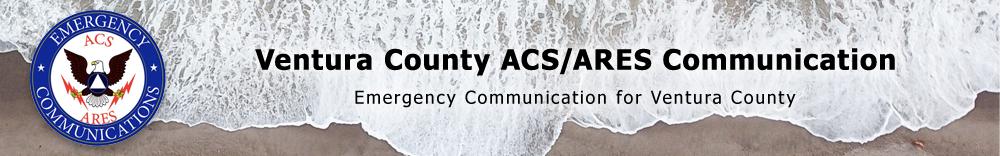 Ventura County ACS/ARES Communications